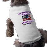 PROUD ARMY DOG DOGGIE T SHIRT