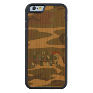 Proud Army Girl Carved Cherry iPhone 6 Bumper Case