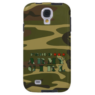 Proud Army Girl Samsung Galaxy S4 Case