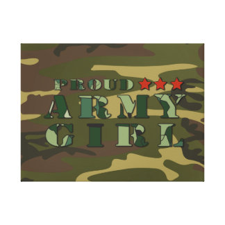 Proud Army Girlfriend Canvas