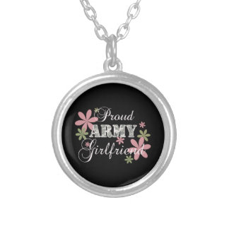 Proud Army Girlfriend [fl c] Necklaces