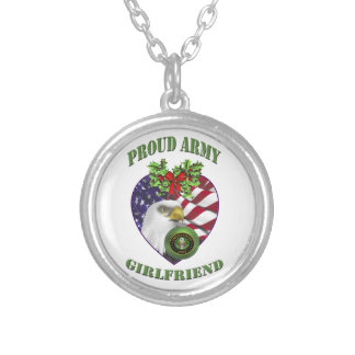 Proud Army Girlfriend Necklace