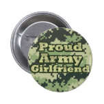 Proud Army Girlfriend Pins