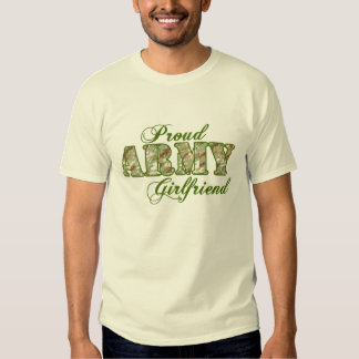 Proud Army Girlfriend Shirt