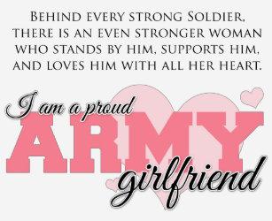 6531cc5a Army Girlfriend T-Shirts, Army Girlfriend Shirts