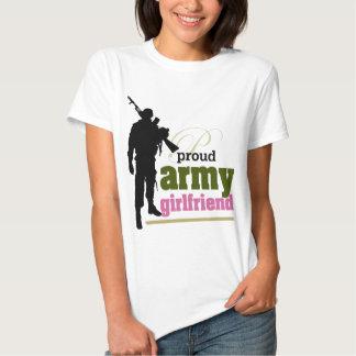 Proud Army Girlfriend Tshirt