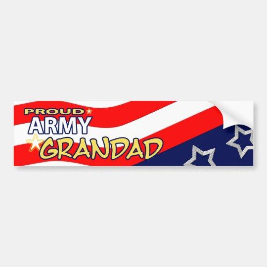 Proud Army Grandad Bumpersticker Bumper Sticker