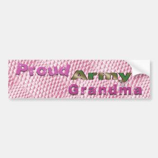 Proud Army Grandma Bumper Sticker