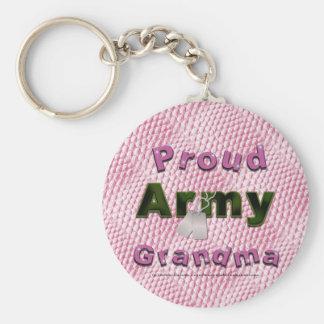Proud Army Grandma Keychain