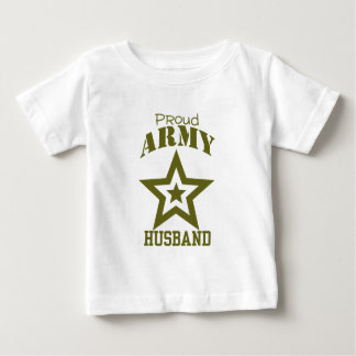 Proud Army Husband Baby T-Shirt