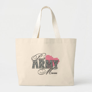 Proud Army Mom Tote Bags