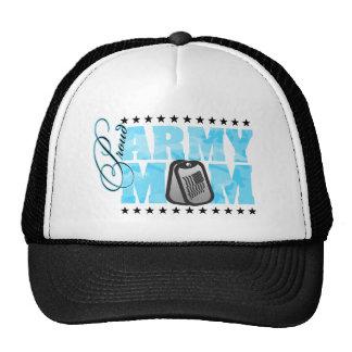 Proud Army Mom Blue Camo Trucker Hat