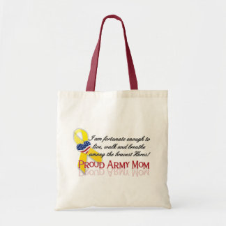 Proud Army Mom Budget Tote Bag