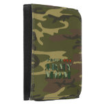 Proud Army Mom Camo Wallet