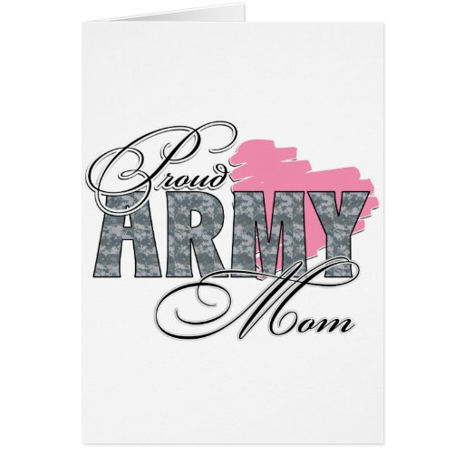 Proud Army Mom Cards