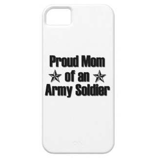 Proud Army Mom iPhone 5/5S Cases