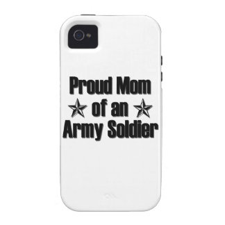 Proud Army Mom iPhone 4 Cases