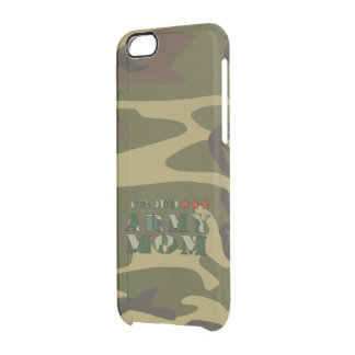 Proud Army Mom Clear iPhone 6/6S Case