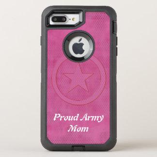Proud army mom defender OtterBox defender iPhone 7 plus case