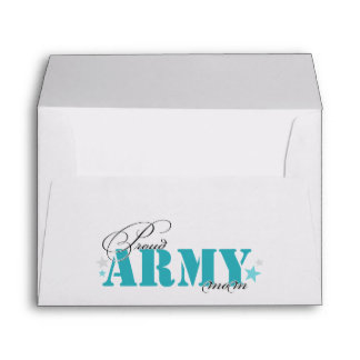 Proud Army Mom Envelope