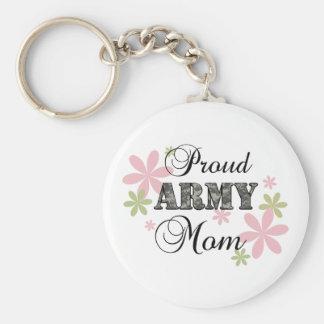 Proud Army Mom [fl c] Keychain