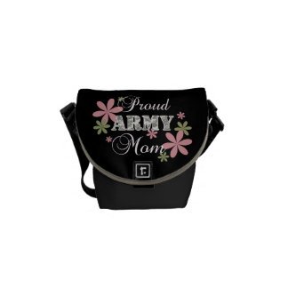 Proud Army Mom fl c Courier Bags