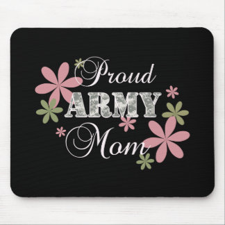 Proud Army Mom [fl c] Mouse Pad
