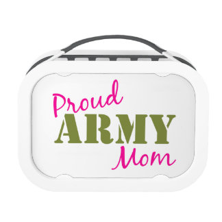 """Proud Army Mom"" Lunchbox"