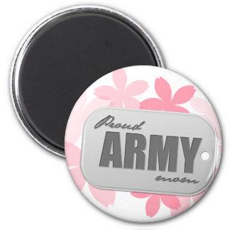 Proud Army Mom Refrigerator Magnet