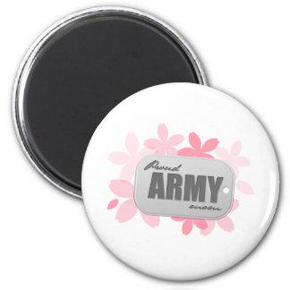 Proud Army Mom Fridge Magnets