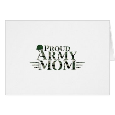Proud Army Mom Military Pride Gift Card
