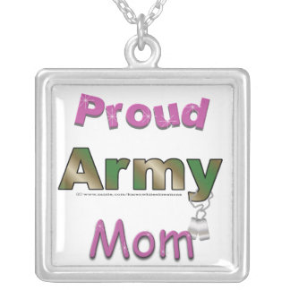 Proud Army Mom Necklace