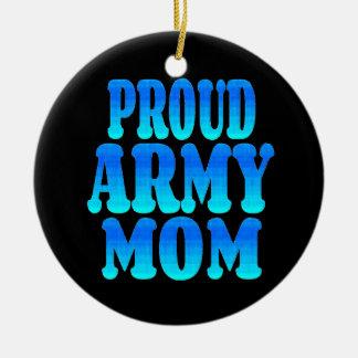 Proud Army Mom Christmas Ornament