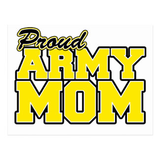 Proud Army Mom Postcard