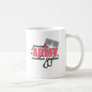 Proud Army Mother in law Mugs