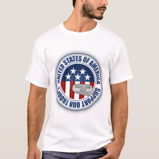 Proud Army National Guard Aunt T-Shirt