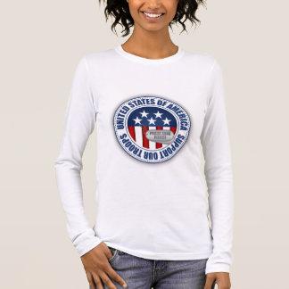 Proud Army National Guard Fiance Long Sleeve T-Shirt