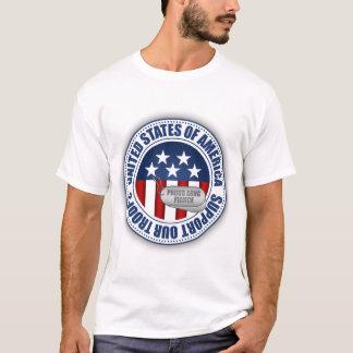 Proud Army National Guard Fiance T-Shirt
