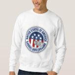 Proud Army National Guard Grandma Pullover Sweatshirts