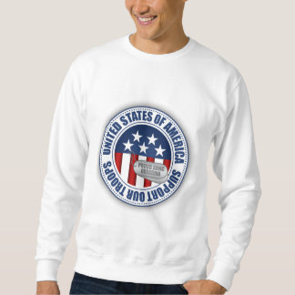 Proud Army National Guard Grandma Pullover Sweatshirts