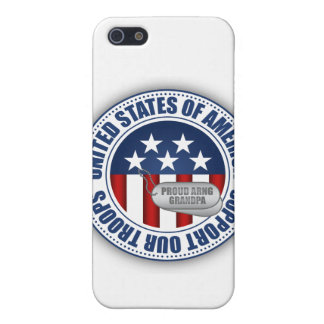 Proud Army National Guard Grandpa Cover For iPhone SE/5/5s