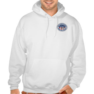Proud Army National Guard Mom Hooded Pullovers