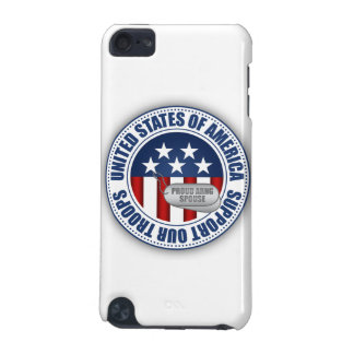 Proud Army National Guard Spouse iPod Touch (5th Generation) Cover