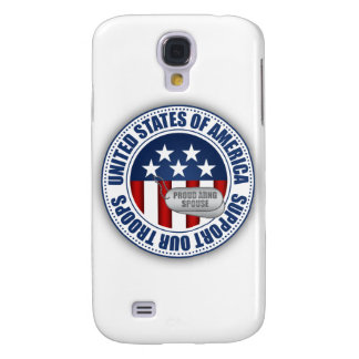 Proud Army National Guard Spouse Samsung Galaxy S4 Cases