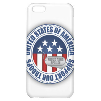 Proud Army National Guard Spouse iPhone 5C Covers