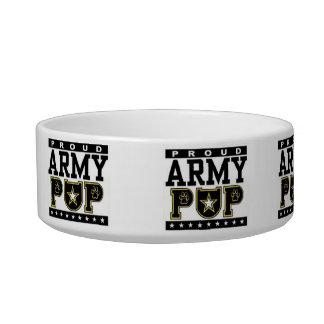 Proud Army Pup Food/Water Bowl Pet Water Bowl