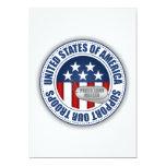 "Proud Army Ranger 5"" X 7"" Invitation Card"