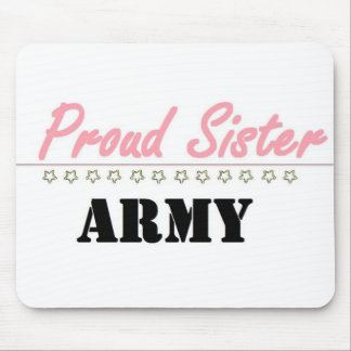 proud army sister (1) mouse pad