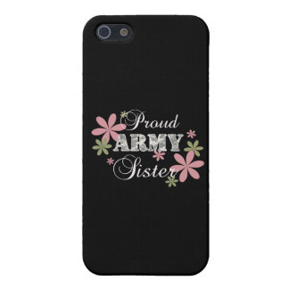 Proud Army Sister [fl c] iPhone 5 Covers