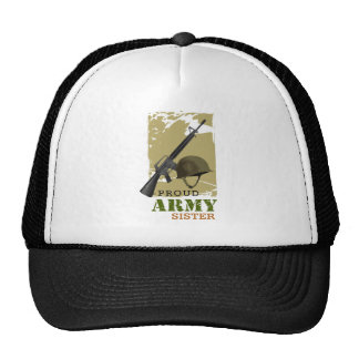 Proud Army Sister Trucker Hats